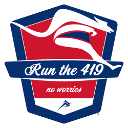 Run the 419 • Walk the 419 • Free & Premier Events in Northwest Ohio Logo